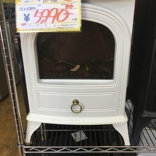 2015年製 スリーアップ 暖炉型ヒーター 白 CHT-1540