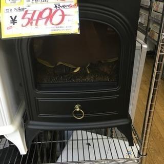 2014年製 スリーアップ  暖炉型ファンヒーター 黒 CH-1331