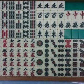 アモス 全自動卓用麻雀牌 (緑)