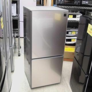 冷蔵庫 137L 2016年製 2ドア シャープ SJ-GD-1...