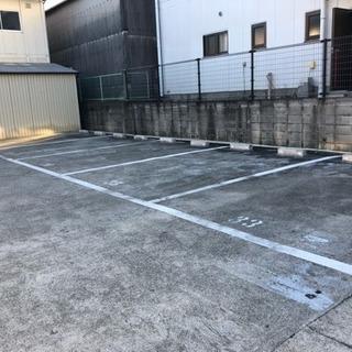 広い月極駐車場!桃山台付近、広くて停めやすい!