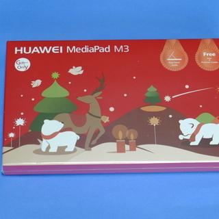 発送可、未開封HUAWEI  Mediapad M3用「「ケース兼...