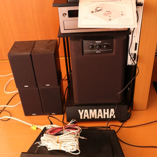 ヤマハ ホームシアターサウンド・システムV10