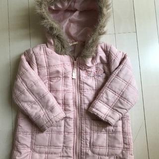 女の子コート size 90