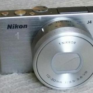 超高速ミラーレス一眼★Nikon1 J4+10~30mm★新同★...