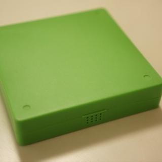 CD DVD ハードケース 黄緑💿