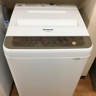 パナソニック 洗濯機 NA-F70PB10 2016年製 7.0キロ