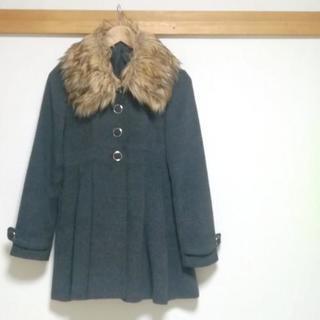 Aラインのファーコート