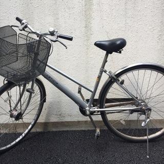 点検済み 自転車 27インチ BAAマーク 耐パンクタイヤ 5段...