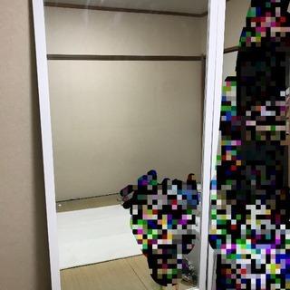 姿見 ミラー 全身鏡 鏡 ワイドサイズ