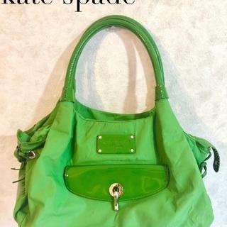 お値下げ!KATE SPADE エメラルドグリーンの綺麗なバッグ
