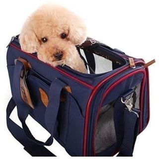 【取引終了】【犬猫】ソフトキャリーバッグ