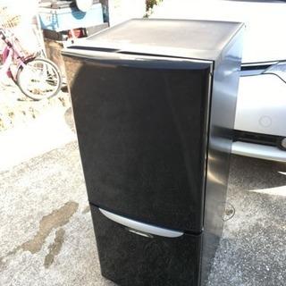【中古品】ナショナル ノンフロン 冷凍冷蔵庫 NR-B141J-...