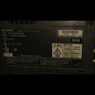 テレビ60インチ