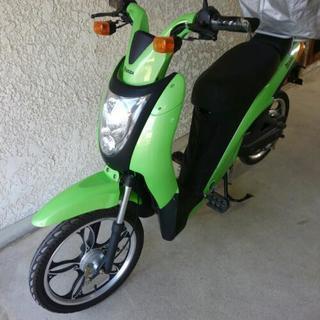 綺麗な【バッテリー新品】電動バイク ミレット
