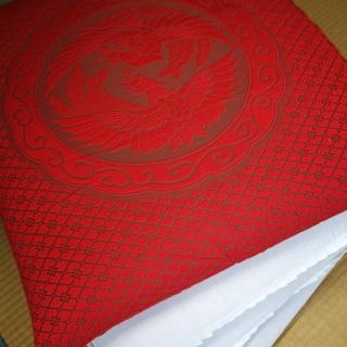 座布団(スポンジ入り)4枚 200円