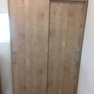 dinos LIVING 天然木調引き戸本棚  ディノス リビング