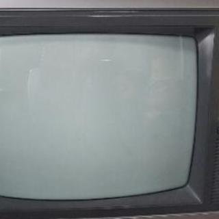 値下げ!レトロなブラウン管テレビ