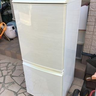 シャープ冷蔵庫2ドア 幅48cm☆ SJ-14W-W☆12年製 千葉県
