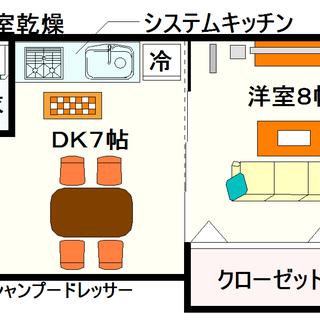 【ロジュマン浪速】5号タイプ!1DKタイプ!まるで分譲を思わせる物...