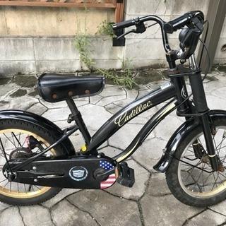 ★男の子★自転車14インチ★cadillac★中古★