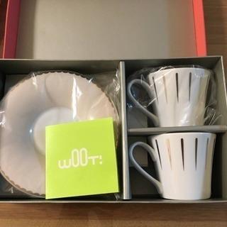 【値下げ】wOOt! ウート ペア コーヒー カップ コップ 新...