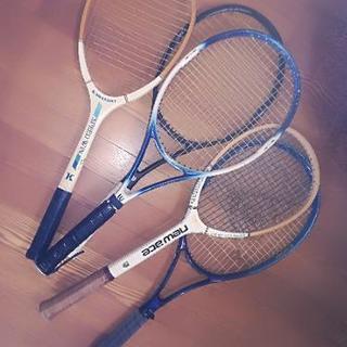 軟式テニスラケット(5本セット)