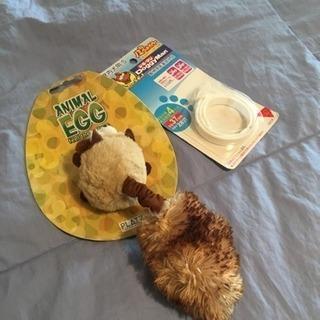 プラッツ とオマケ⭐︎犬用 ANIMAL EGG オモチャ