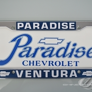 PARADISE CHEVROLET USナンバーフレーム & ...