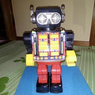 レトロ ブリキロボット