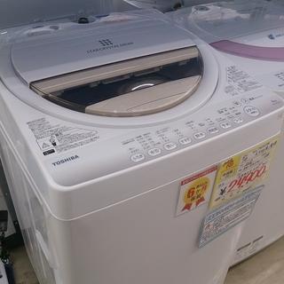 2016年製 東芝 6.0kg 洗濯機 AW-6G5 1114-3...