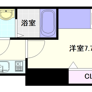 【Luxe難波西Ⅰ】6号タイプ!1Kタイプ!新築物件!!