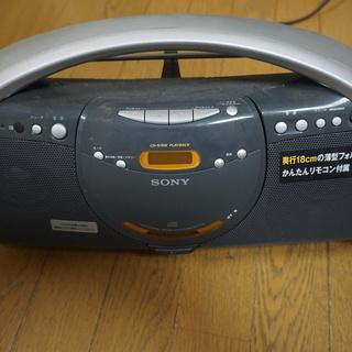 ソニーCDラジカセ(ZS-Y3)