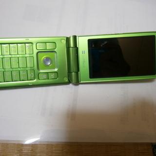 SB携帯001SH/SIM無/BATT死/グリーン/353012...