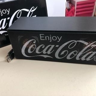 コカ・コーラ  スピーカー  ブラック
