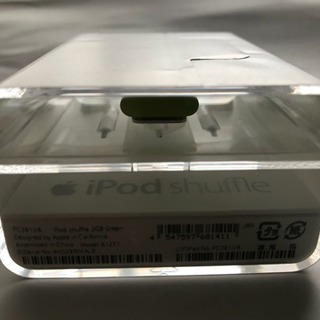 Apple iPod shtffle Green 2GB 新品未開封