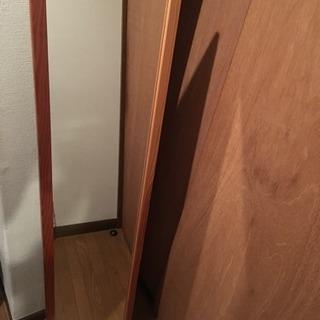 木製フレーム姿見お譲りします‼️