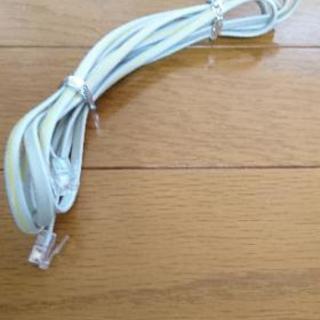 固定電話の線