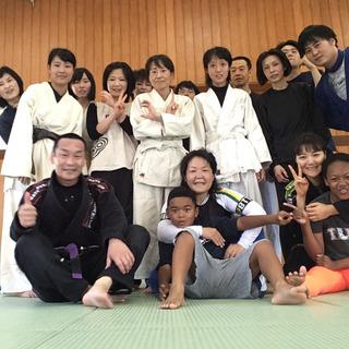 女性が集まるブラジリアン柔術の教室 in 山口市、防府市