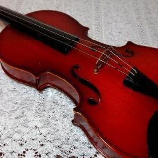 バイオリン1/2 SUZUKI No.13、弓 譜面台 ハードケ...