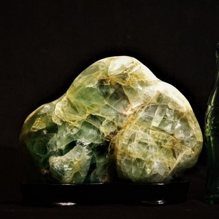 フローライト 蛍石原石 飾り石 鑑賞石 パワーストーン 天才の石