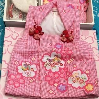 可愛いピンクの七五三着物7点セット‼️