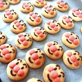 アンパンマン クッキー 講座