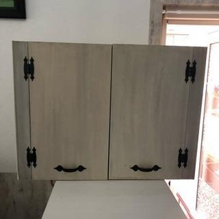手作り カントリー収納ボックス