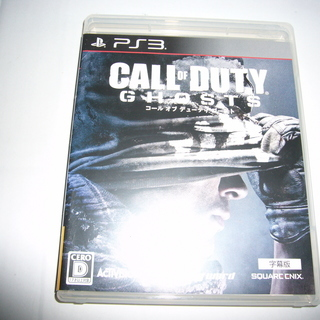 PS3 コールオブデューティー ゴースト 字幕版 ゲームソフト