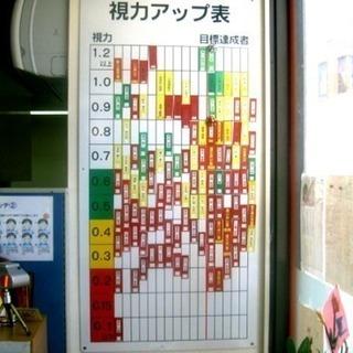 視力回復教室 今なら1000円!