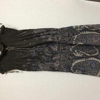 サマーロングドレス