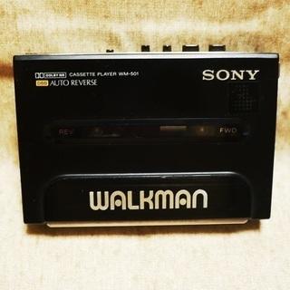 【取引完了】【バッテリー・充電器無し】SONY カセットWALK...