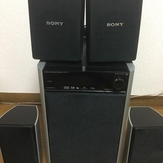 ONKYO デジタルサラウンドスピーカーシステム SONYスピー...