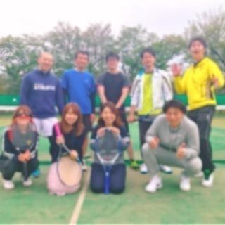 初心者大歓迎!!ゆるーく楽しく皆んなでテニス!